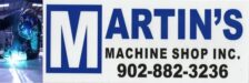 Martin's Machine Shop Inc.